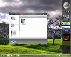 Leak aero theme for windows 7 by fares123