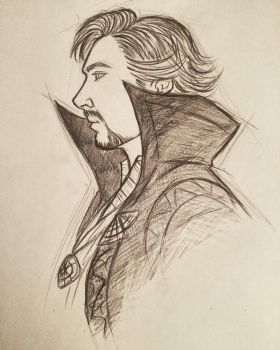 Doctor Strange by 7Lisa