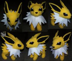 Jolteon Plush Pokemon by YutakaYumi