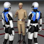 Available now for genesis 2 Galactic Officer by vilmur