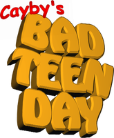''Cayby's Bad Teen Day'' Logo Design V2 by C-E-Studio