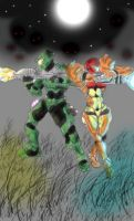 Halo n Metroid by HTX-Wolf