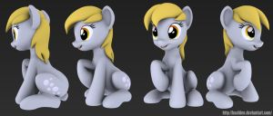 New Derpy by Hashbro