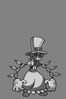 Skullgirls Peacock Taunt by MajiOMNI