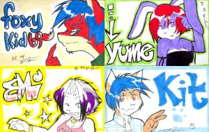 AC badges part 2 by yume