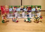 Amiibo Figure Characters 9 by extraphotos