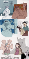 Medieval Harry Potter by NerinaSam