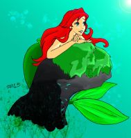 Ariel 3 COLOR by SleepingSnowWhite