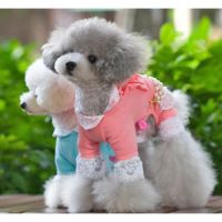 Lolita Beads And Lace Clothing For Pet by Kangxiao