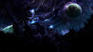 Titanfall- Protectors of the Earth by SKstalker