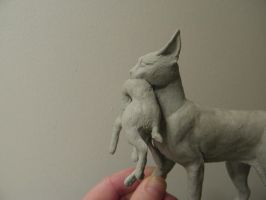 Caracal WIP 4 by LionGrrl