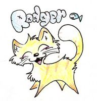 Rodger the Kitty by exazo