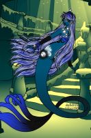 Luna Mermaid by OperaticAnimeNimue