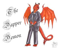 Request - Dapper Demon Sign by R-Eventide