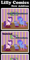 Lilly Comics 020: New Addition by WaterLillyHearts