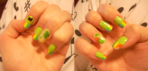 Saint Patrick's Day Nails 2013 by RoxieAngel