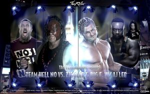 WrestleMania 29 Team Hell No vs. Dolph and Big E by TheReller