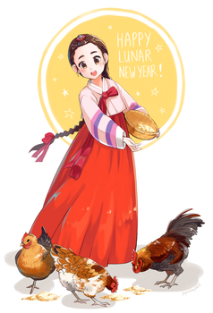 Lunar New Year 2017 by jojostory