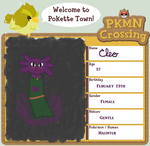 Pokemon Crossing Application: Cleo by ravenpie52