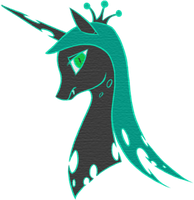 MLP - Queen of Changelings by Cheshire-no-Neko