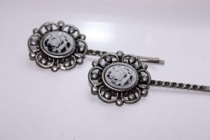 Victorian Bobby Pins by XxQuothTheRavenxX
