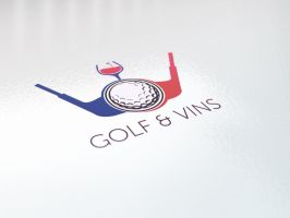 GOLF AND VINS by RiegersArtistry