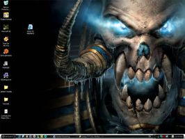 Warcraft III desktop by ChaloDillo