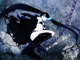 Black Rock Shooter Wallpaper by shadowroc