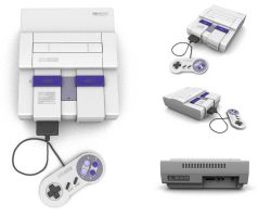 Super Nintendo With Controller by the-black-wind