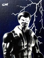 Black Lightning by Stencils-by-Chase