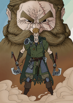 The_Shaved_Dwarf_2 by elvis2nd