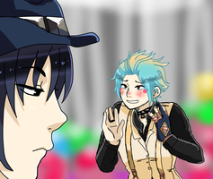 [DMMD] Sei and his Allmate by ClumsyTea