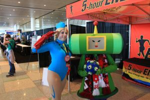 PAX East 2013 - Salute Your Katamari! by VideoGameStupid