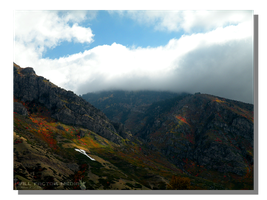 Y Mountain at BYU in Fall by WillFactorMedia