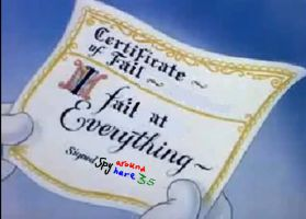 I signed a fail certificate. by spyaroundhere35