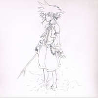 Sora - Kingdom Hearts by SamuraiPrincess23