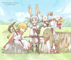 White mages by doublejoker00