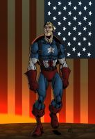 Captain America by RAHeight by SageHazzard