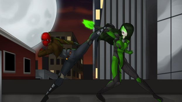 A Clash in Gotham by LexiKimble