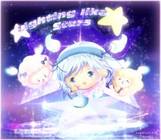 Chieri is singing Lighting Like Star by Kauthar-Sharbini
