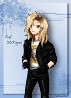Duff Mckagan by SavanasArt