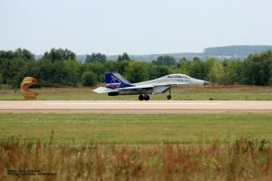 MIG-35, N3196 by Starling-AW