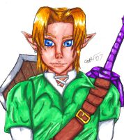 Link -marker drawing, whoo- by DarkMythril