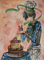 KURO: Ciel's 'Happy Birthday' by JemikaM