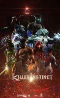 Killer Instinct Poster by FARetis
