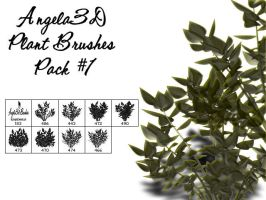 Angela3D Plant Brushes Set 1 by angela3d