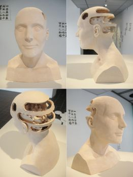 Four Pictures of the Transhumanist by TimLavey