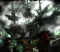 Here comes the flying Dutchman by KomyFly