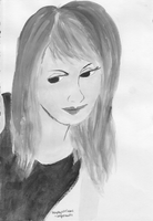 Hayley Williams - Grayscaled by angerawrrs