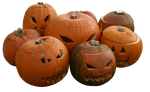 Pumpkins PNG by Freaky-Stock